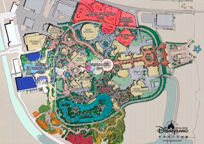 [Parc Walt Disney Studios] Nouvelle zone La Reine des Neiges  (202?) Hkd_ex10