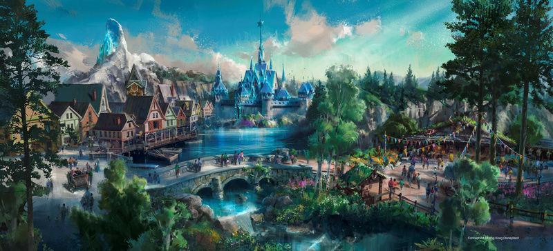 [Parc Walt Disney Studios] Nouvelle zone La Reine des Neiges  (202?) Hkd_fr10