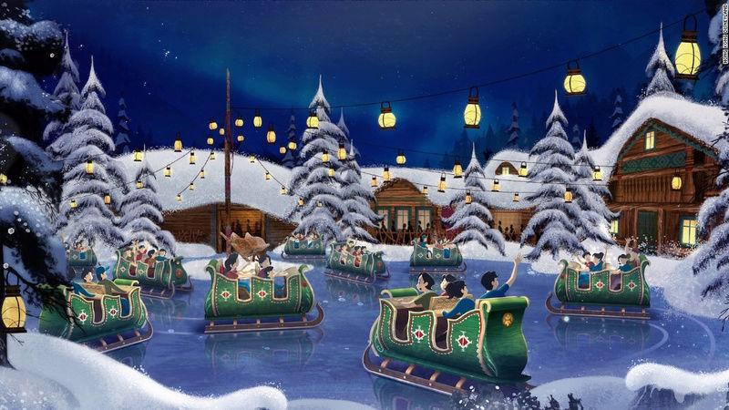 [Parc Walt Disney Studios] Nouvelle zone La Reine des Neiges  (202?) Hkd_fr11
