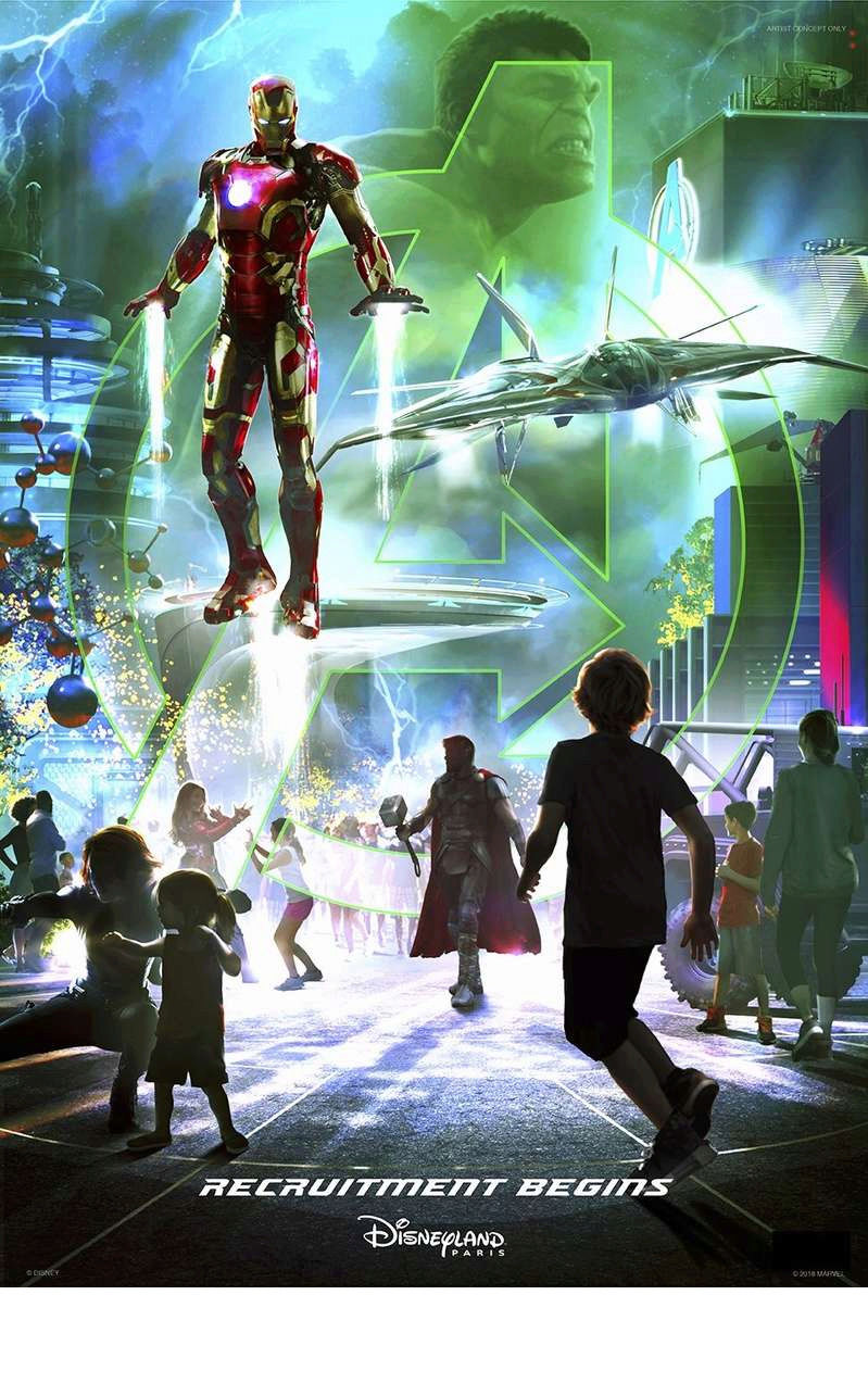 [Parc Walt Disney Studios] Attraction Iron Man et les Avengers (2021) - Page 14 Marvel13