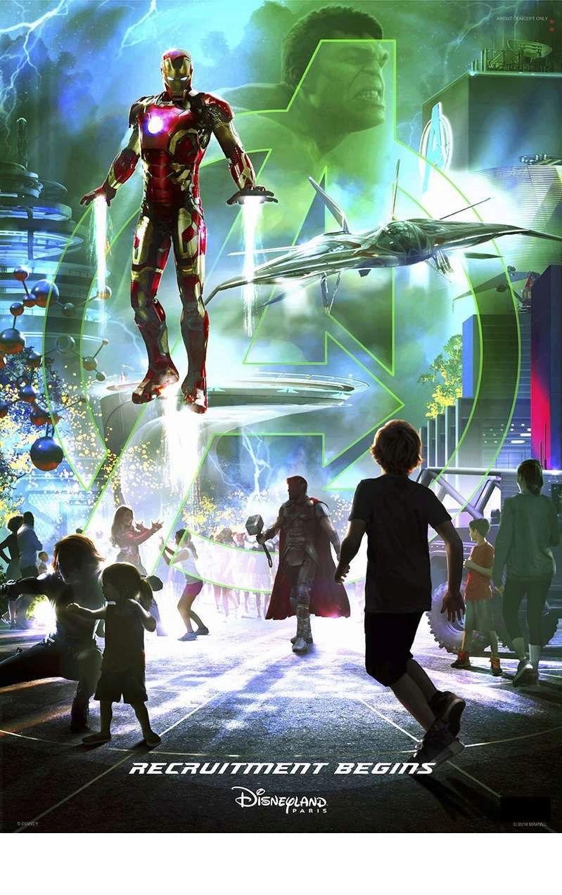 [Parc Walt Disney Studios] Avengers Campus (2021) > infos en page 1 - Page 4 Marvel14
