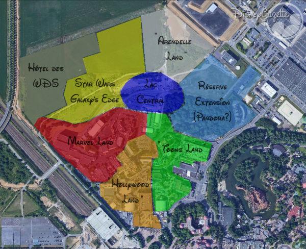 [Parc Walt Disney Studios] Nouvelle zone La Reine des Neiges  (202?) Plan_e13