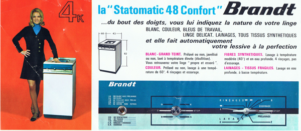 Brandt Statomatic 48 et 57 14021010