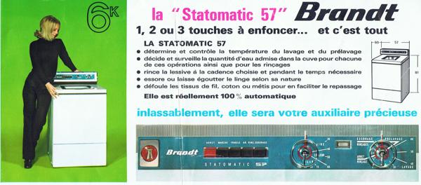 Brandt Statomatic 48 et 57 14021012