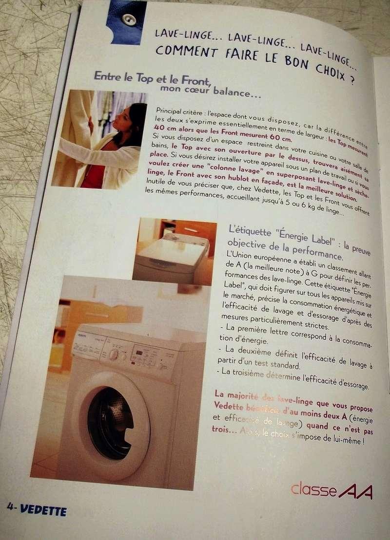Guide du lavage Vedette 2003 V310