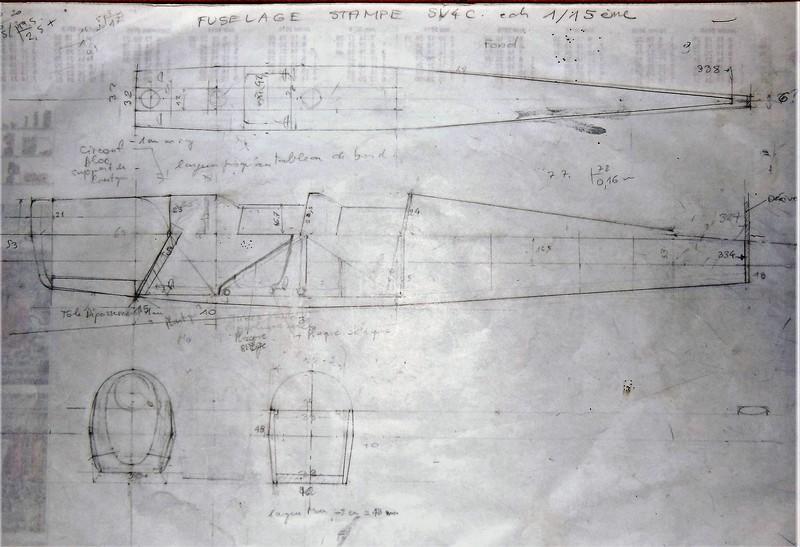STAMPE SV4c 100% scratch en bois massif sculpté (mais pas que) au 1/15e : suite de la fabrication du moteur 0117