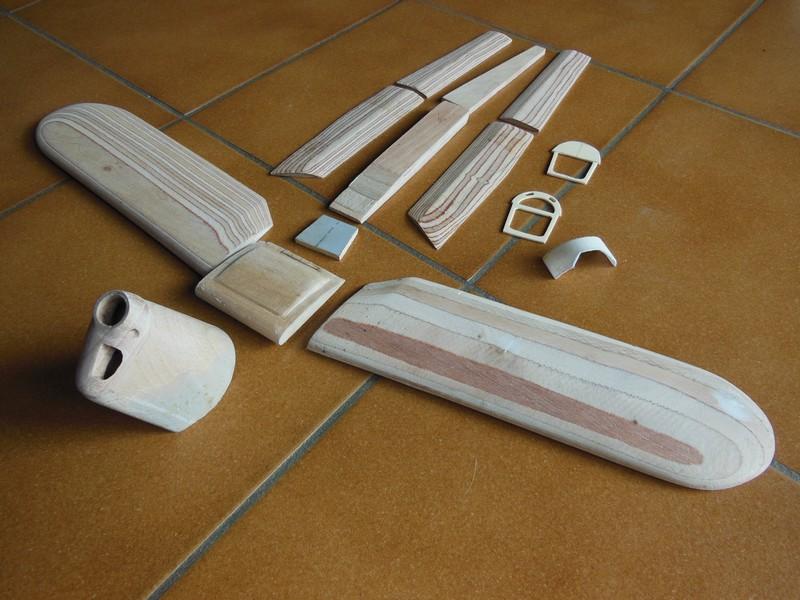 STAMPE SV4c 100% scratch en bois massif sculpté (mais pas que) au 1/15e : suite de la fabrication du moteur 0216