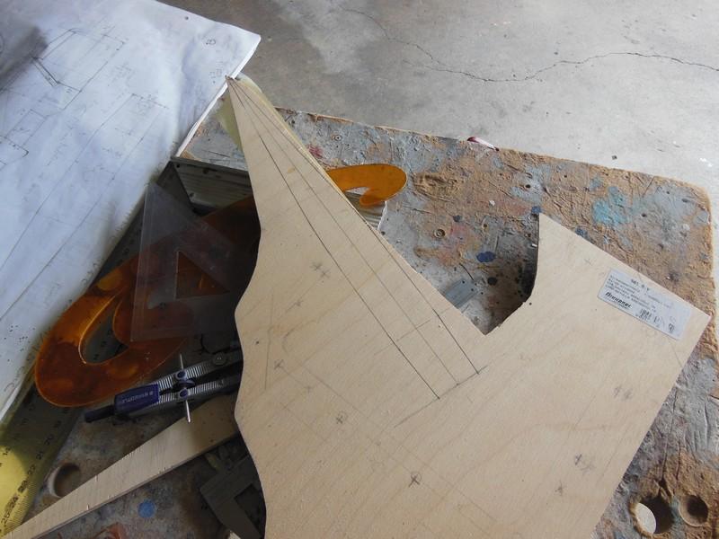 STAMPE SV4c 100% scratch en bois massif sculpté (mais pas que) au 1/15e : signature finale 0217