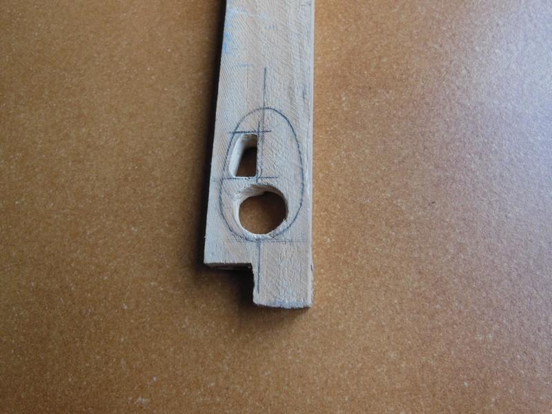 STAMPE SV4c 100% scratch en bois massif sculpté (mais pas que) au 1/15e : suite de la fabrication du moteur 1017