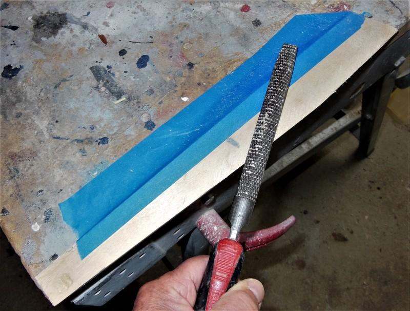 STAMPE SV4c 100% scratch en bois massif sculpté (mais pas que) au 1/15e : signature finale 1214