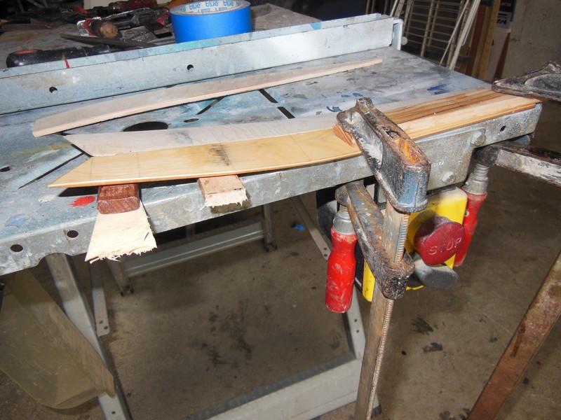STAMPE SV4c 100% scratch en bois massif sculpté (mais pas que) au 1/15e : signature finale 1513