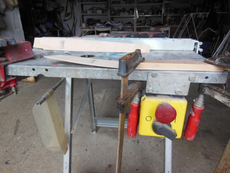 STAMPE SV4c 100% scratch en bois massif sculpté (mais pas que) au 1/15e : signature finale 1613