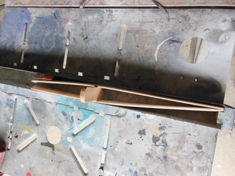 STAMPE SV4c 100% scratch en bois massif sculpté (mais pas que) au 1/15e : signature finale 1713