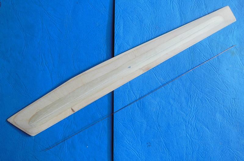 STAMPE SV4c 100% scratch en bois massif sculpté (mais pas que) au 1/15e : signature finale 1913