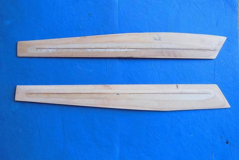 STAMPE SV4c 100% scratch en bois massif sculpté (mais pas que) au 1/15e : signature finale 2112