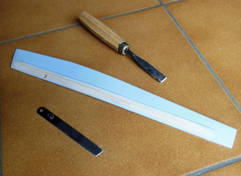 STAMPE SV4c 100% scratch en bois massif sculpté (mais pas que) au 1/15e : signature finale 2212
