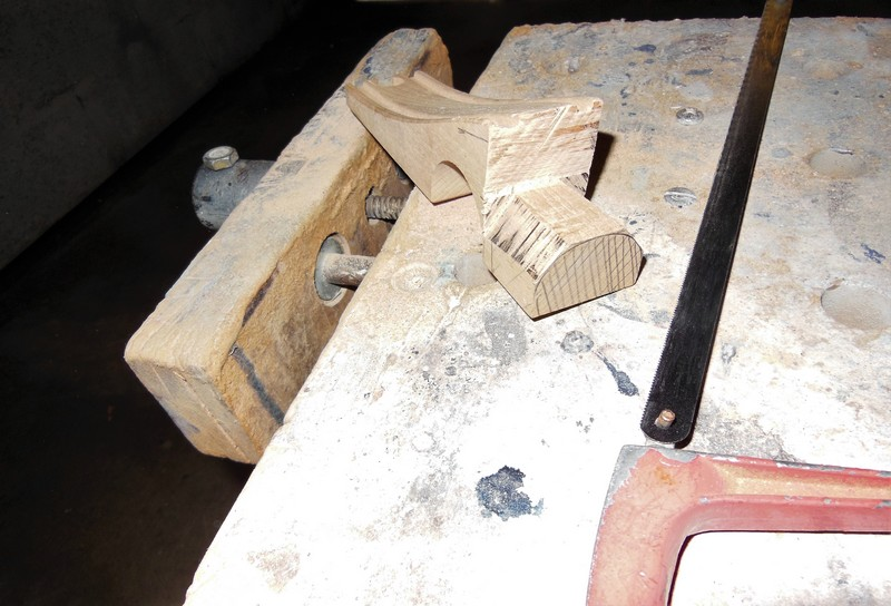 STAMPE SV4c 100% scratch en bois massif sculpté (mais pas que) au 1/15e : suite de la fabrication du moteur 3511