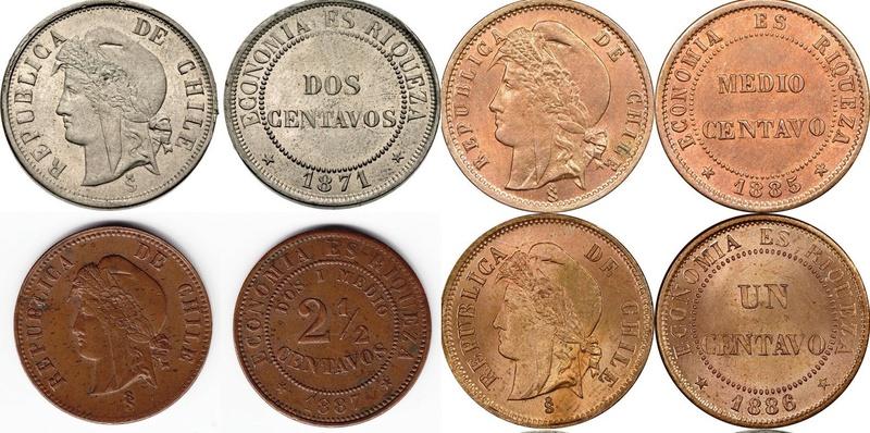 Juan Bainville, grabador monedas chilenas. Medio_12