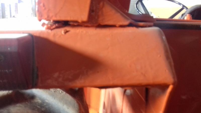 [Fiat 780E] Reparar chapa muy oxidada 20171111