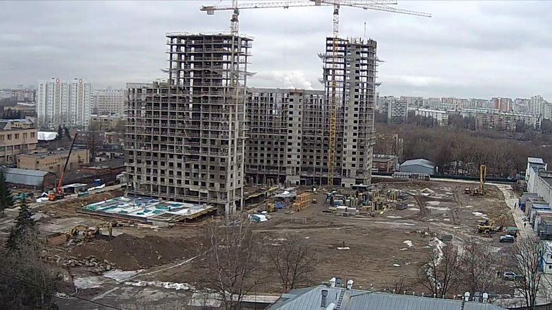 """Веб-камеры на площадке строительства ЖК """"Нормандия"""" Jvo1xp10"""