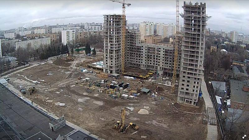 """Веб-камеры на площадке строительства ЖК """"Нормандия"""" Yo76mk10"""