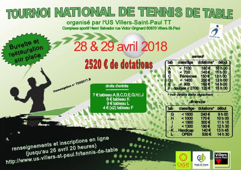 tournoi national B à Villers-St-Paul (60) 28 & 29 avril 2018 Affich10