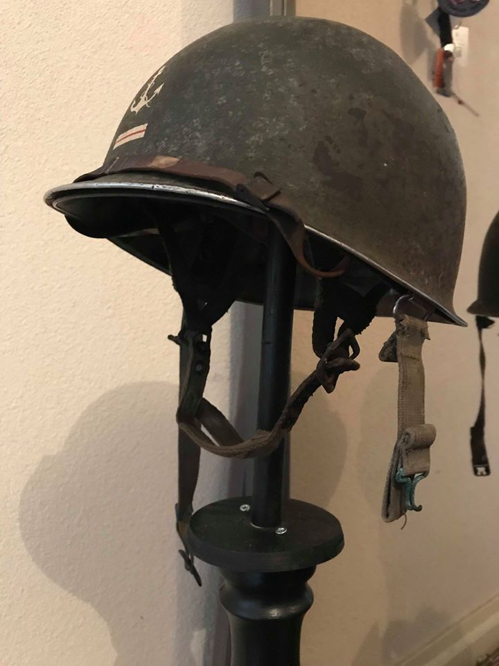 estimation casque M1C parachutiste en vue de vente 26696610