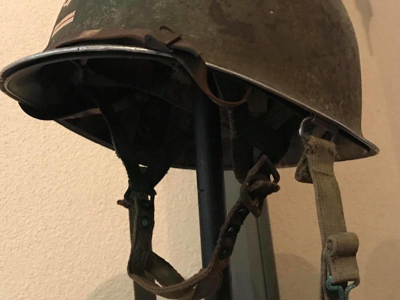 estimation casque M1C parachutiste en vue de vente 26782210