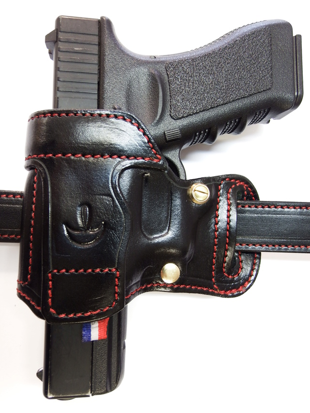 "HOLSTER AMBIDEXTRE : le ""PRACTIC"" by SLYE Dscf1043"