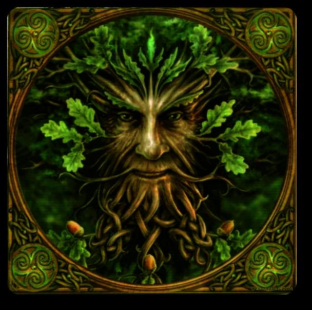 Королева Фей и Зеленый Человек. Eiza_u10