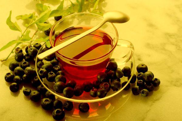 Напиток Белтайна. Черничный чай. Ueezau10