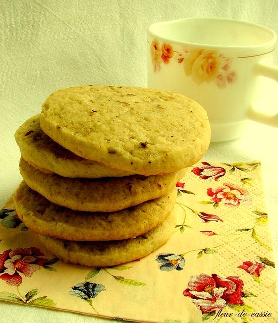Выпечка Белтайна. Анисовое печенье с пеканом. Ziaae_10