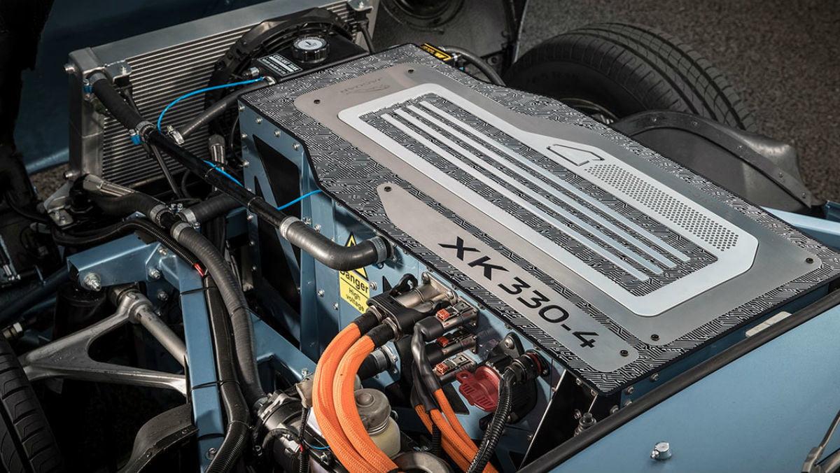 911 Electrique - conversion Jaguar10