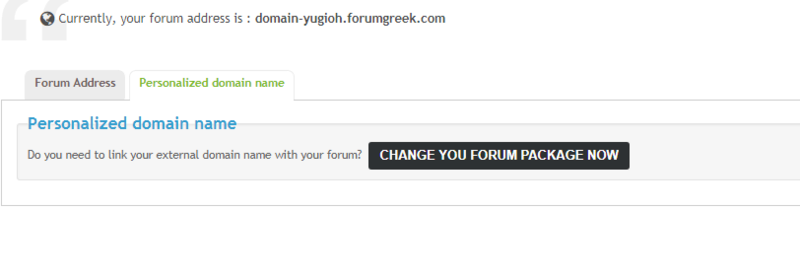 Why it doens't let me to change my domain to a personalized Ice_sc32