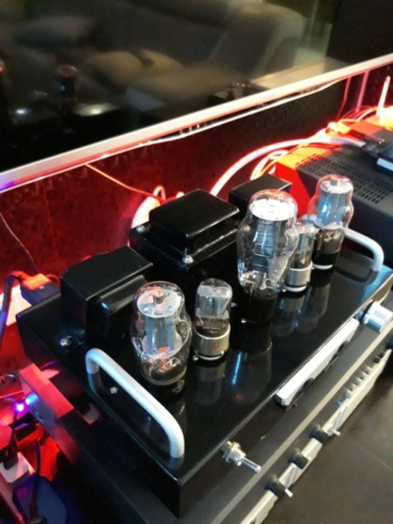 Phoenix tube amplifiers.  20180524