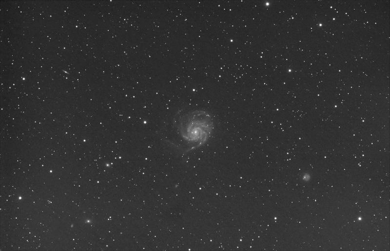 M 101 et le Triplet du Lion M101_210