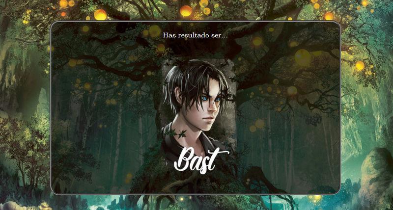 Test. ¿Con qué personaje de la saga eres más afín? Bast10