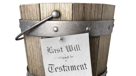 Arranging a funeral - A step-by-step guide Bucket10