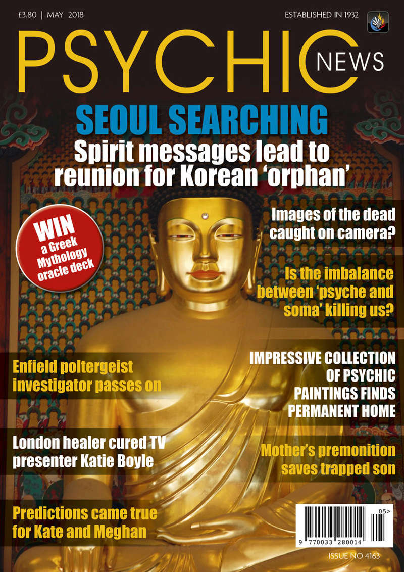 Psychic News - May 2018 Cover911