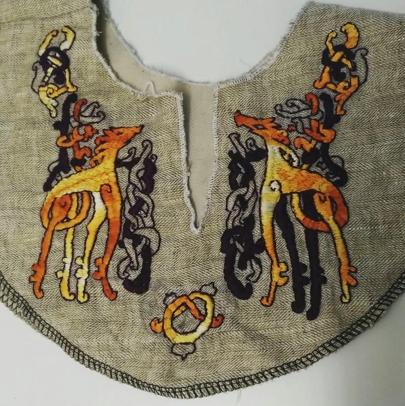 Robe et tablier viking ou.. Apron viking dress 11yme_10