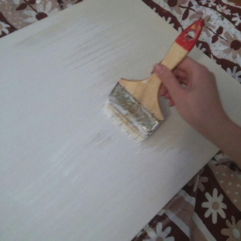 """Мастер-класс """"Как натянуть холст на подрамник и загрунтовать его"""" Ab8e7a10"""
