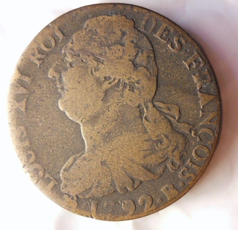 Francia 2 Soles 1792 - Luis XVI como monarca constitucional S-l16018
