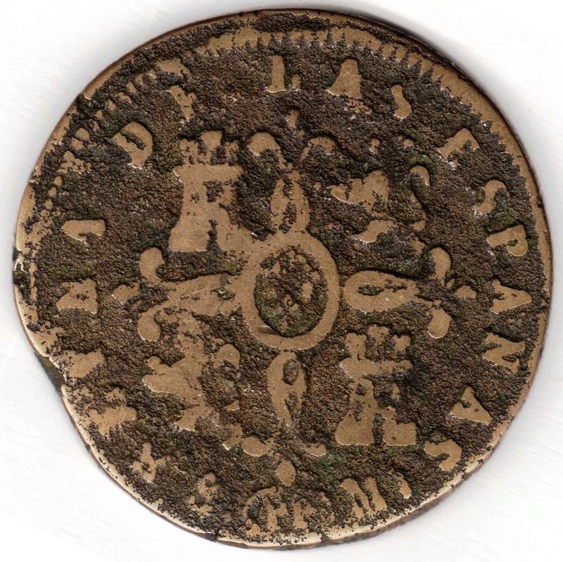 8 maravedis 1837 P.P. 183710