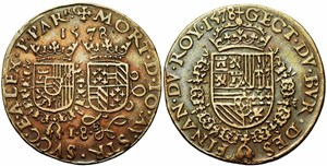Jeton en recuerdo de la muerte de Don Juan de Austria 275111