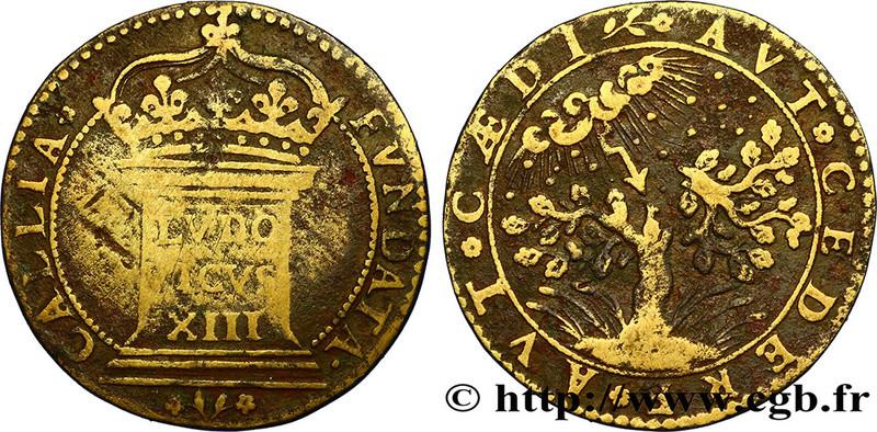 Jeton pour Louis XIII, Guerre de Trente ans ... Fjt_2310
