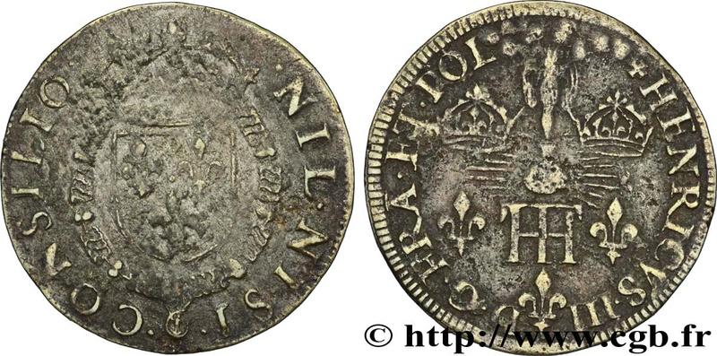 Jeton de Nuremberg pour le sacre d'henri III (13-02-1575) ... Fjt_2311