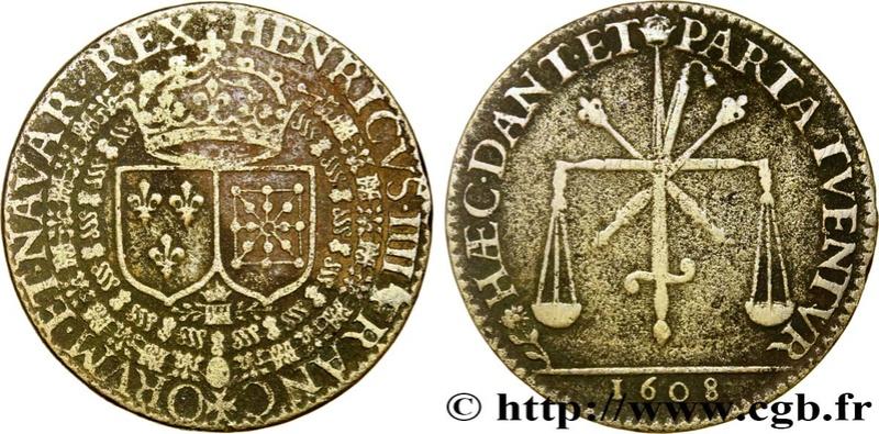 1609 Henricus IIII Espada y balanza Fjt_4512
