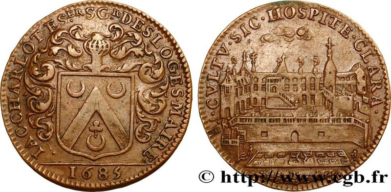 1685, Blason et Palais. Fjt_4610