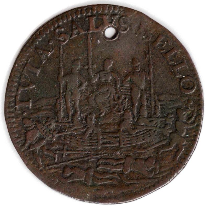 Jeton 1591 Bélgica  Img85410