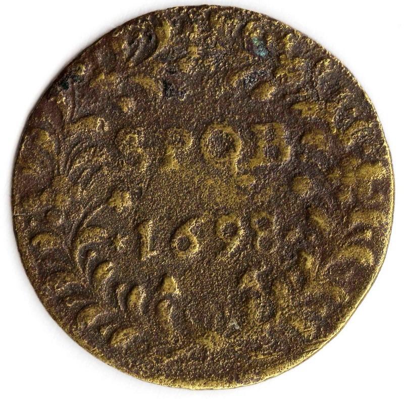 Jeton S.P.Q.B. 1698  Img85811
